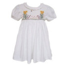 Flowerbed Smocked Dress